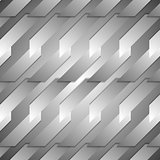 Grey tech geometric background