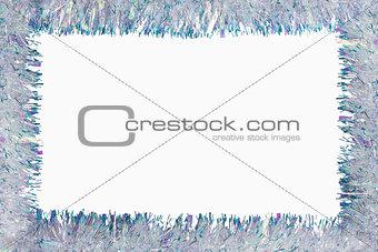 Tinsel garland frame