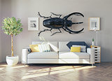 the  rhino beetle in the  room
