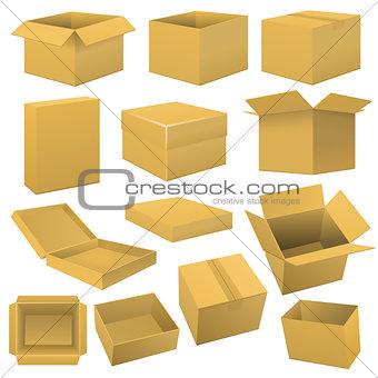 Box set. Vector
