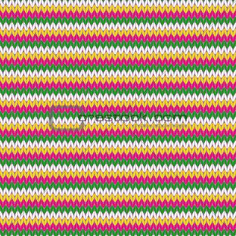 Knitting seamless pattern