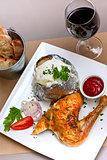 Chicken and potato