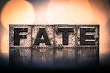 Fate Concept Vintage Letterpress Type