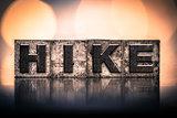Hike Concept Vintage Letterpress Type