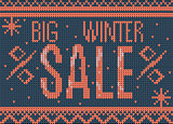 big winter sale banner