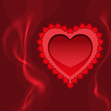 blazing heart fire and love