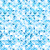 Geometric blue background - seamless.