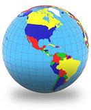 Americas on Earth