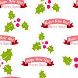 Cheerful, Beautiful festive seamless pattern