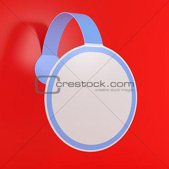 Blank Empty Sticker Label Tag