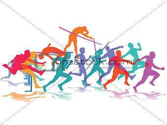 athletics, sport