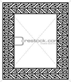 Celtic Key Pattern - frame, border