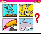 educational puzzle preschool task