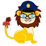 Animal lion police