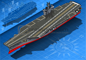 Aircraft Carrier 01 Vehicle Isometric