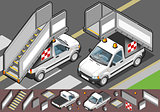 Airport 02 Vehicle Isometric