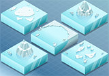 Arctic 01 Tiles Isometric