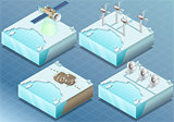 Arctic 04 Tiles Isometric