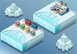Arctic 05 Tiles Isometric