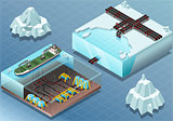 Arctic 06 Tiles Isometric