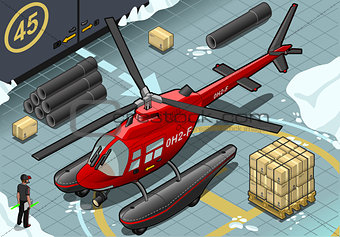 Arctic Rescue 01 Vehicle Isometric