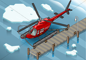 Arctic Rescue 04 Vehicle Isometric