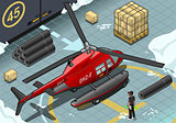 Arctic Rescue 05 Vehicle Isometric