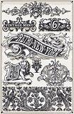 Banners Labels 02 Vintage 2D