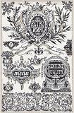 Banners Labels 03 Vintage 2D