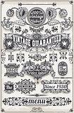 Banners Labels 09 Vintage 2D