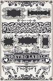 Banners Labels 11 Vintage 2D