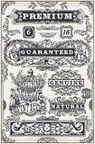 Banners Labels 12 Vintage 2D