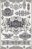 Banners Labels 13 Vintage 2D