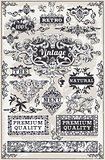Banners Labels 14 Vintage 2D