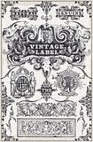 Banners Labels 15 Vintage 2D