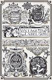 Banners Labels 16 Vintage 2D