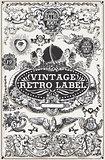 Banners Labels 17 Vintage 2D