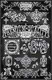 Banners Labels 28 Vintage Blackboard 2D