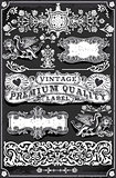 Banners Labels 31 Vintage Blackboard 2D