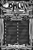 BBQ Menu 01 Vintage Blackboard 2D