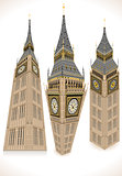 Big Ben 01 Buildings Isometric