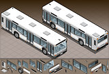 Bus 02 Vehicle Isometric