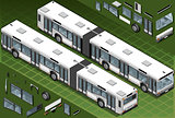 Bus 04 Vehicle Isometric