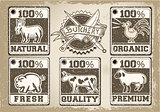 Butcher Labels 01 Vintage 2D
