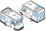 Camper 01 Vehicle Isometric