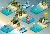 Carribean 01 Building Isometric