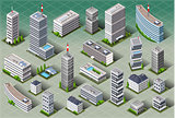 City 01 Building Isometric