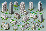 City 02 Building Isometric