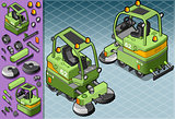 Cleaner Machine 02 Vehicle Isometric