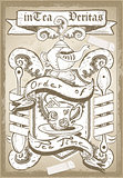 Coat of Arm 01 Vintage 2D